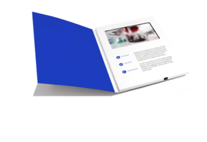 promotional custom video folders