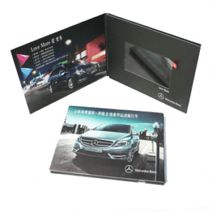 promotional custom video brochures